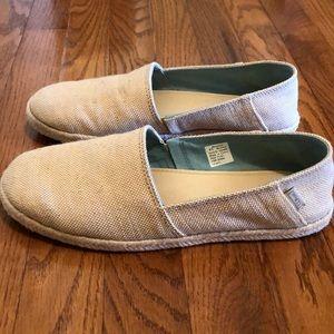 Beige LL Bean Espadrille Shoes